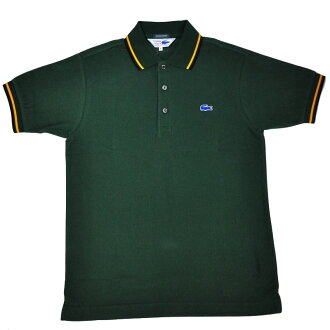 JAPAN LACOSTE (japanlacoste) EXCLUSIVE EDITION (another note line) PH601P S/S POLOSHIRTS (short sleeve polo shirt) PILE (Pyle area) Blue crocodile logo VERT (GREEN) (132)