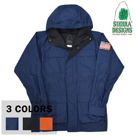 【3 COLORS】SIERRA DESIGNS(シェラデザイン) 【MADE IN USA】 60/40 MOUNTAIN PARKA(アメリカ製 ロクヨンクロス マウンテンパーカー) with USA EMBLEM WAPPEN
