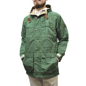 SIERRA DESIGNS(シェラデザイン) 【MADE IN USA】(アメリカ製) 60/40(ロクヨンクロス) MOUNTAIN PARKA(マウンテンパーカ) GREEN/VINTAGE TAN