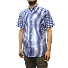 SERO(セロ) 【MADE IN U.S.A】 S/S B/D SHIRTS(アメリカ製半袖ボタンダウンシャツ) GINGHAM CHECK(ギンガムチェック) ROYAL BLUE