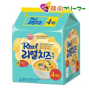 OTTIGI オットギ リアル チーズラーメン 135gx4個 韓国食品 韓国ラーメン 韓国お土産 乾麺 インスタントラーメン リアル チーズ ラーメン 韓国食品 韓国食材 韓国料理 韓国ラーメン