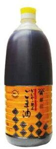 ■かどや製油 金印 純正ごま油 (濃口) 1650g 6個【かどや ごま油 胡麻油 ゴマ油 業務用 お徳用】