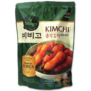 【冷蔵】韓国 ビビゴ チョンガクキムチ 500g bibigo チョンガクキムチ