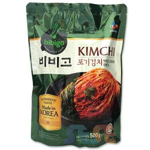 【冷蔵】韓国 ビビゴ ポギ白菜キムチ 500g bibigo 白菜キムチ