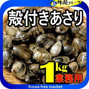 【冷凍】 殻付きアサリ 加熱調理用 1kg /冷凍あさり 冷凍アサリ 1キロ 業務用【食品】