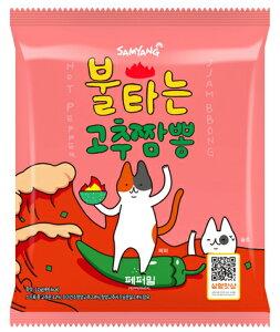 燃えるコチュチャンポン 137gx1個 [燃える 唐辛子 チャンポン麺] 激辛 辛ラーメン 韓国ラーメン ちゃんぽん