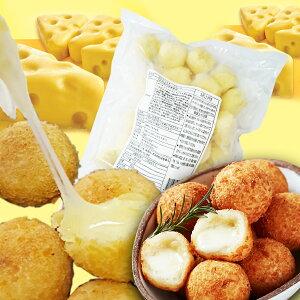 【冷凍クール】【送料無料】2種類から選べる モチモチ チーズボール 韓国 1kg(30個)x2個セット [クリームチーズボール] [スイートポテトチーズボール] 韓国 チーズボール