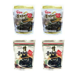 ザバン海苔 4パック 玉童子 ジャバンのり 70g 2パック + 三父子 ジャバンのり 70g 2パック/韓国海苔/韓国のり/韓国食品/おつまみ/海苔/おかず/海苔まき/のり/おにぎり/美味しい海苔/味付けのり/