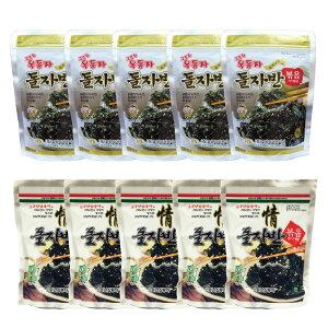 ザバン海苔 10パック 玉童子 ジャバンのり 70g 5パック + 三父子 ジャバンのり 70g 5パック/韓国海苔/韓国のり/韓国食品/おつまみ/海苔/おかず/海苔まき/のり/おにぎり/美味しい海苔/味付けのり/