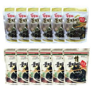 ザバン海苔 12パック 玉童子 ジャバンのり 70g 6パック + 三父子 ジャバンのり 70g 6パック/韓国海苔/韓国のり/韓国食品/おつまみ/海苔/おかず/海苔まき/のり/おにぎり/美味しい海苔/味付けのり/