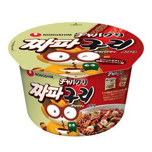 農心 チャパグリ カップ麺 114g 1個 パラサイト 話題のチャパグリも作れるカップラーメン 送料無料 ノグリ/チャパゲティ/韓国ラーメン