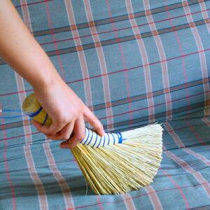 [REDECKER/レデッカー] 麦わら手ほうき (ハンドブラシ) 掃除道具 かわいい 掃除 北欧道具