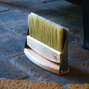 [REDECKER/レデッカー]ハースブラシセット(ブナ)/ちりとり ほうき セット/掃除道具/おしゃれ/かわいい/掃除/北欧道具
