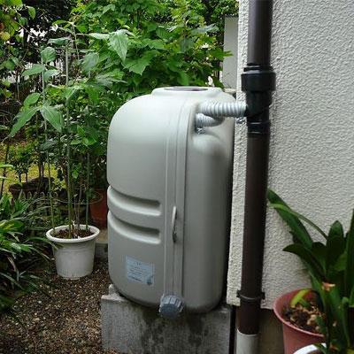 雨水タンク【コダマ樹脂ホームダム110L(グレー・角ドイ)】雨水貯留タンク雨水貯留槽家庭用雨水タンクホームダム