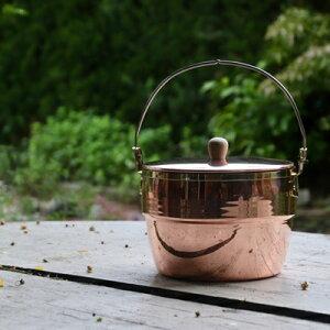 コッパーオークポット 銅 飯盒 キャンプ アウトドア