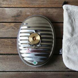 【送料無料】マルカ製ステンレス製湯たんぽ 2.2L(袋付き)