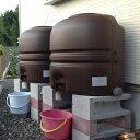 【コダマ樹脂 ホームダムミニダブル(110L × 2台セット)】 雨水貯留タンク 雨水貯留槽 雨水タンク おしゃれ 雨水タ…