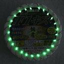 拙者競技モデル50本連結仕掛 ダブルケイムラ&グリーン夜光塗 byがまかつ F1キス ナノスムース