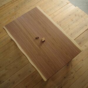 K-FLANこたつ 150×85 長方形 ウォールナット|北欧|和風|モダン|シンプル|デザイン||おしゃれ|かわいい||日本製|国産リビングテーブル||こたつテーブル|ローテーブル|座卓||耳付き|皮付き|一枚板