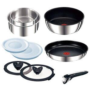 T-fal インジニオ・ネオIHステンレス エクセレンスセット9 [ 料理道具 ] | キッチン 台所 料理 自宅用 贈り物 ティファール