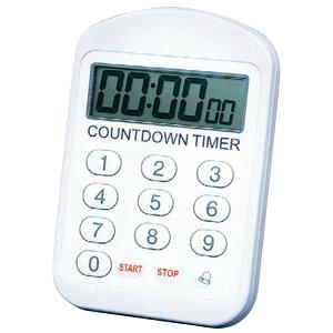防水タイマー 100時間計 TM-16 [ 130 x 88 x H20mm ] 【 計測 】  飲食店 厨房 キッチン 業務用 自宅用