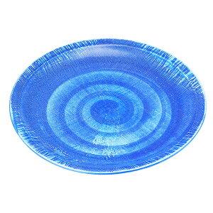 (強)ごす巻(布目)10.0丸皿 [ Φ30.5 x H3cm 1100g ]   大きい お皿 大皿 盛り皿 盛皿 人気 おすすめ パスタ皿 パーティー 食器 業務用 飲食店 カフェ うつわ 器 ギフト プレゼント誕生日 贈り物 贈答品