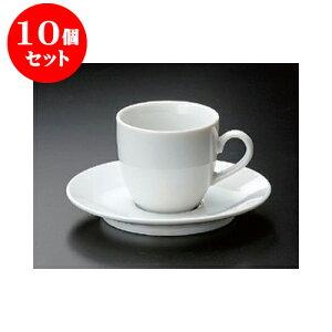 10個セット 碗皿 ホテルコーヒーC/S [7.2 x 6.8cm 170cc] | コーヒー カップ ティー 紅茶 喫茶 人気 おすすめ 食器 洋食器 業務用 飲食店 カフェ うつわ 器 おしゃれ かわいい ギフト プレゼント 引き
