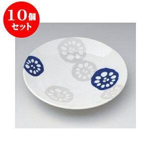 10個セット 丸組皿 れんこん青軽量5.0皿 [16.3 x 2.8cm] | 中皿 デザート皿 取り皿 人気 おすすめ 食器 業務用 飲食店 カフェ うつわ 器 おしゃれ かわいい ギフト プレゼント 引き出物 誕生日 贈り