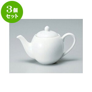 3個セット 洋陶単品 モデルノポット(茶こし付) [10.5 x 11.5cm 450cc] | ポット コーヒー 紅茶 急須 ティー 人気 おすすめ 食器 洋食器 業務用 飲食店 カフェ うつわ 器 おしゃれ かわいい ギフト