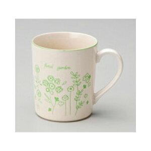 マグ フローラルガーデン(GR)マグ [7.8 x 9cm 340cc] 軽量 | マグ マグカップ コーヒー 紅茶 ティー 人気 おすすめ 食器 洋食器 業務用 飲食店 カフェ うつわ 器 おしゃれ かわいい ギフト プレゼ