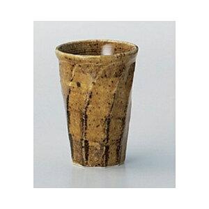 酒器 飴斑点ねじりカップ [8.5 x 12cm 300cc] | フリーカップ タンブラー カップ コップ ビール 酒器 お酒 居酒屋 バー bar 晩酌 人気 おすすめ 食器 業務用 飲食店 カフェ うつわ 器 おしゃれ かわい