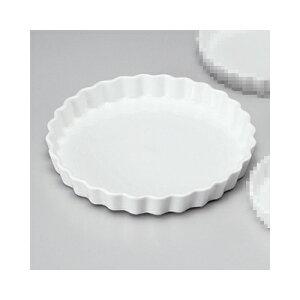 洋陶単品 白丸10吋パイ皿 [25.5 x 3.2cm]   パイ 製菓 スフレ グラタン 人気 おすすめ 食器 洋食器 業務用 飲食店 カフェ うつわ 器 おしゃれ かわいい ギフト プレゼント 引き出物 誕生日 贈り物