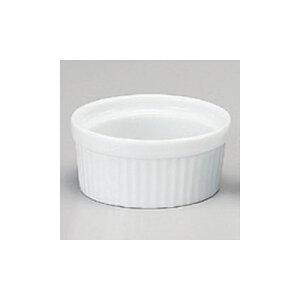 洋陶単品 3吋スフレ白 [7.9 x 3.7cm 110cc] | スフレ ケーキ 洋菓子 製菓 お菓子 人気 おすすめ 食器 洋食器 業務用 飲食店 カフェ うつわ 器 おしゃれ かわいい ギフト プレゼント 引き出物 誕生日