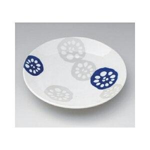 丸組皿 れんこん青軽量3.5皿 [12.5 x 2cm] | 小皿 取り皿 人気 おすすめ 食器 業務用 飲食店 小さいお皿 カフェ うつわ 器 おしゃれ かわいい ギフト プレゼント 引き出物 誕生日 贈り物 贈答品 SNS