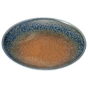 砂地藍流し9.0皿 [ 28.5 x 4cm ] | 大きい お皿 大皿 盛り皿 盛皿 人気 おすすめ パスタ皿 パーティー 食器 業務用 飲食店 カフェ うつわ 器 ギフト プレゼント誕生日 贈り物 贈答品 おしゃれ かわ
