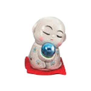 開運風水ミニお地蔵様(青色) [ 4.5cm ] 【 縁起の福飾り 】 | 置物 陶磁器 お祝い プレゼント