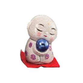 開運風水ミニお地蔵様(紫色) [ 4.5cm ] 【 縁起の福飾り 】   置物 陶磁器 お祝い プレゼント