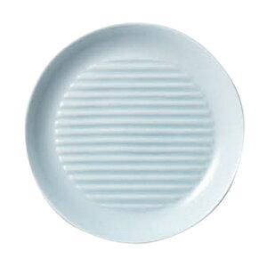 ストライププレートW190青白磁 [ 19.8 x 2.4cm ]| 中皿 サラダ パスタ 取り皿 プレート 人気 おすすめ 食器 洋食器 業務用 飲食店 カフェ うつわ 器 おしゃれ かわいい ギフト プレゼント 引き出物