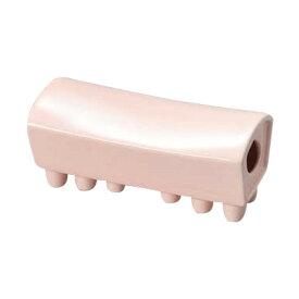 ピンク陶枕 [ 18 x 8 x 8cm ] 【 雑器 】   寝具 インテリア とうちん 贈り物 ひんやり