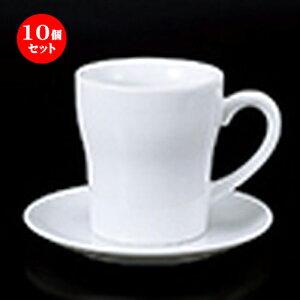 10個セット 碗皿 / ヨーグルトC/S [ 碗 8.8 x 9.8cm   320cc ] 皿 15.5 x 1.8cm ] ? コーヒー カップ ティー 紅茶 喫茶 碗皿 人気 おすすめ 食器 洋食器 業務用 飲食店 カフェ うつわ 器 おしゃれ かわいい