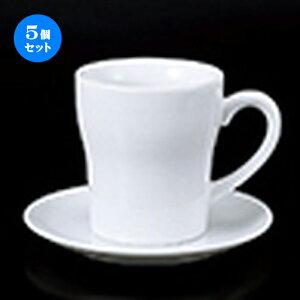 5個セット 碗皿 / ヨーグルトC/S [ 碗 8.8 x 9.8cm   320cc ] 皿 15.5 x 1.8cm ] ? コーヒー カップ ティー 紅茶 喫茶 碗皿 人気 おすすめ 食器 洋食器 業務用 飲食店 カフェ うつわ 器 おしゃれ かわいい ギ