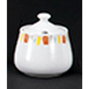 洋陶オープン 強化パーマナンス (オレンジ) シュガー [ 7.9 x 8.4cm ・200cc ] | 砂糖入 シュガー 紅茶 コーヒー ティー 人気 おすすめ 食器 洋食器 業務用 飲食店 カフェ うつわ 器 おしゃれ かわ