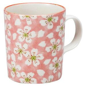 ほう紅桜 軽量マグ 赤 [ 7.9 x 9cm 320cc ] マグカップ | マグ マグカップ コーヒー 紅茶 ティー 人気 おすすめ 食器 洋食器 業務用 飲食店 カフェ うつわ 器 おしゃれ かわいい ギフト プレゼント
