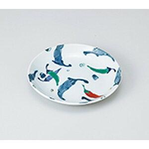 和皿 錦とうがらし5.0皿 [ 16.5 x 2.8cm ] ? 中皿 デザート皿 取り皿 人気 おすすめ 食器 業務用 飲食店 カフェ うつわ 器 おしゃれ かわいい ギフト プレゼント 引き出物 誕生日 贈り物 贈答品