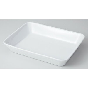 モダンスタイル 白7吋ラザニア [ 15 x 11.4 x 3.3cm ]   グラタン スープ ドリア アヒージョ シチュー 人気 おすすめ 食器 洋食器 業務用 飲食店 カフェ うつわ 器 おしゃれ かわいい ギフト プレ
