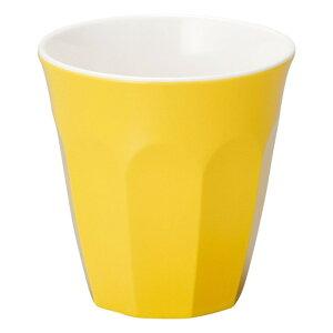 イエロー ドリンクカップ [ D8.8 x H9cm 275cc ] メラミン食器 | メラミン 割れない 食器 介護 社食 学食 給食 病院 樹脂製 おすすめ 人気 食器 業務用 飲食店 カフェ うつわ 器 おしゃれ かわいい お
