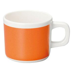 オレンジ マグカップ [ L10.5 x S7.8 x H6.8cm 245cc ] メラミン食器 | メラミン 割れない 食器 介護 社食 学食 給食 病院 樹脂製 おすすめ 人気 業務用 飲食店 カフェ うつわ 器 おしゃれ かわいい お洒