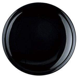 黒艶 9.0皿 [D27.8 X H4cm]   大皿 プレート パーティ 人気 おすすめ 食器 洋食器 業務用 飲食店 カフェ うつわ 器 おしゃれ かわいい ギフト プレゼント 引き出物 誕生日 贈り物 贈答品 自宅用 大き