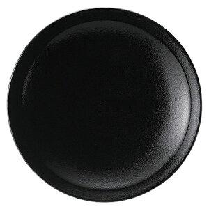 黒柚 6.0皿 [D18.5 x H2.8cm]| 中皿 サラダ パスタ 取り皿 プレート 人気 おすすめ 食器 洋食器 業務用 飲食店 カフェ うつわ 器 おしゃれ かわいい ギフト プレゼント 引き出物 誕生日 贈り物 贈答