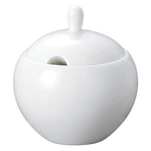 ノーブルホワイト シュガー [D9.4 X H9.7cm 225cc]   砂糖入 シュガー 紅茶 コーヒー ティー 人気 おすすめ 食器 洋食器 業務用 飲食店 カフェ うつわ 器 おしゃれ かわいい ギフト プレゼント 引き